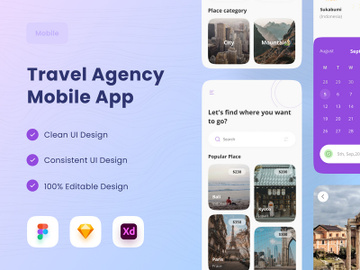 Travel Agency Mobile App preview picture