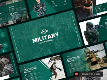Military - Army & Police Presentation Template preview picture
