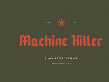 Machine Killer - Blackletter preview picture