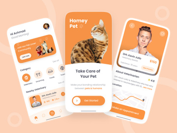 Pet Care App preview picture