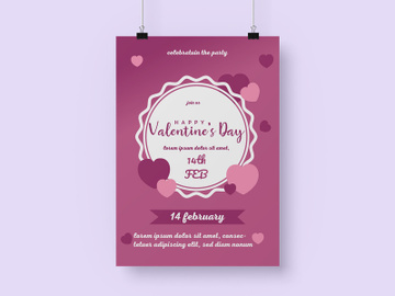 Valentine Day  Flyer Design preview picture