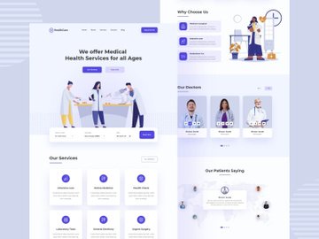 Medical & Healthcare Landing Page preview picture