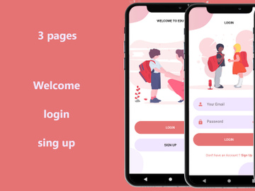 Flutter Auth UI - Template in Flutter preview picture