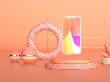 3D Product Presentation Mockup - Cinema 4D & Octane preview picture