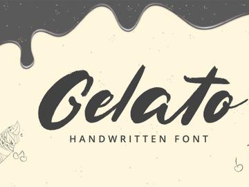 Gelato - Handwritten Font preview picture