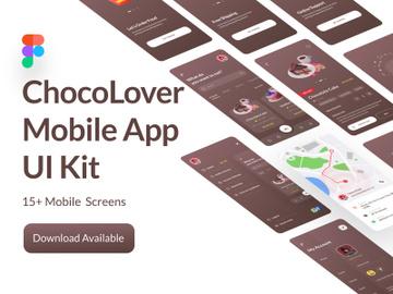 ChocoMobi Full Mobile App UI Kit preview picture