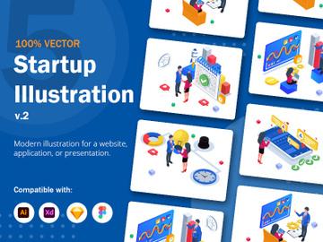 Startup Illustration v2 preview picture