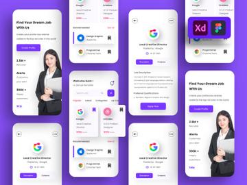 Job Search App Design preview picture