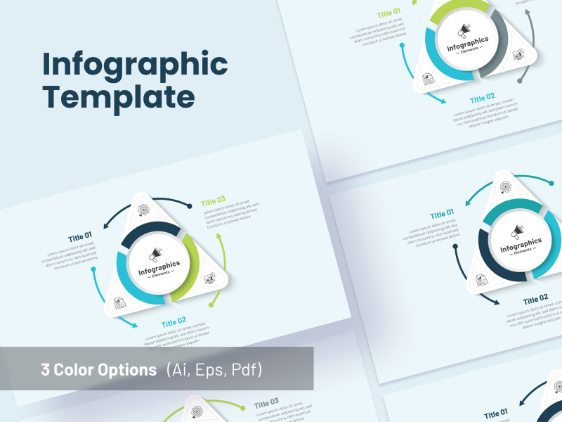 Triangle Infographics