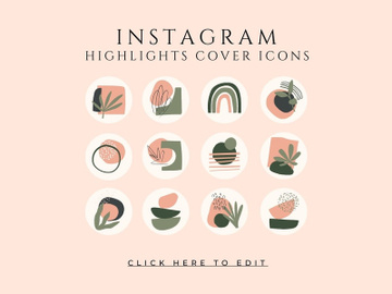 Instagram Highlight Cover Icons preview picture