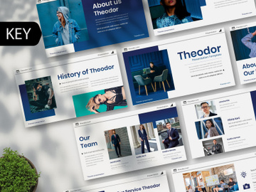 Teodor Creative Keynote Template preview picture