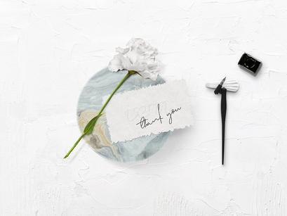 Calligraphy Kit Mockup