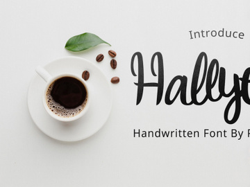 Hallyeet Font [Free For Commercial Font] preview picture
