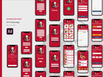 KFC Foody App Concept preview picture