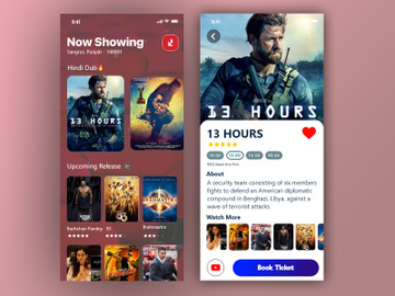 Movie Ticket Booking App preview picture