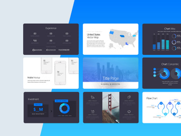 Silicon Pitch Deck Template preview picture