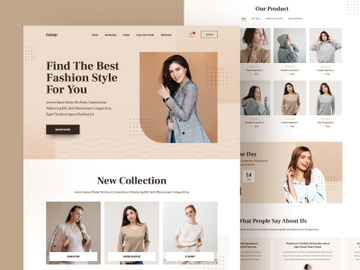 eCommerce Fashion preview picture