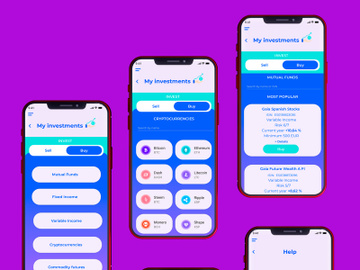 Modern Wallet & Finance App UI Kit preview picture