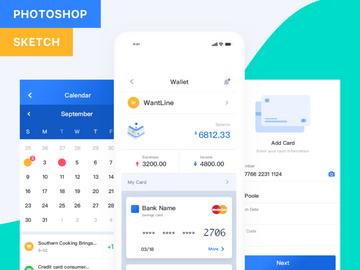 Pocket UI Kit Fintech App preview picture