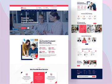 Business Consultancy Agency web design preview picture