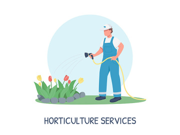 Gardening social media post mockup preview picture
