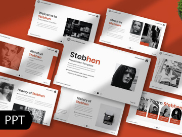 Stebhen Creative Powerpoint Template preview picture