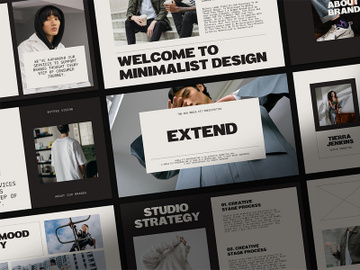 EXTEND - PowerPoint Media Kit preview picture