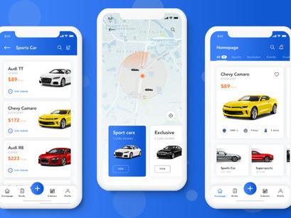 Car Rental App by Sri Indula ~ EpicPxls