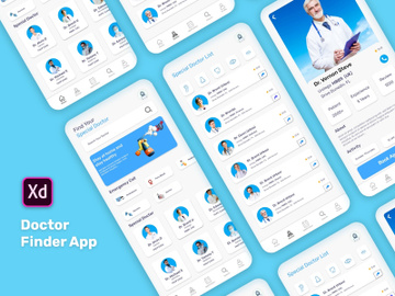 Doctor Finder App preview picture