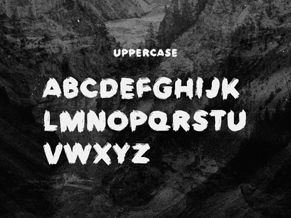 Europa Brush — FREE Textured Brush Font by Harry Cresswell ~ EpicPxls