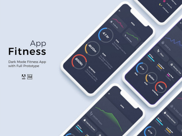 Fitness App preview picture