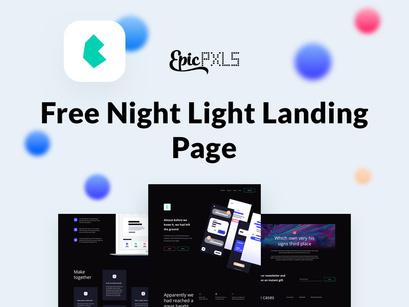 Free Landings - Night light