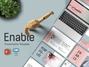 Enable Free Presentation Template preview picture