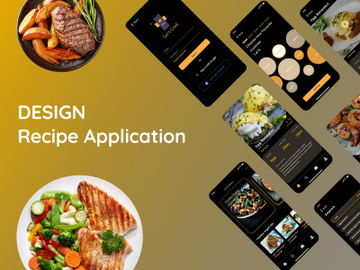 Recipe Application Designs - Let's Cook preview picture